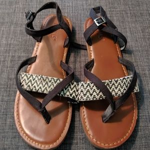 Shoes - Tom's | Leather Sandals